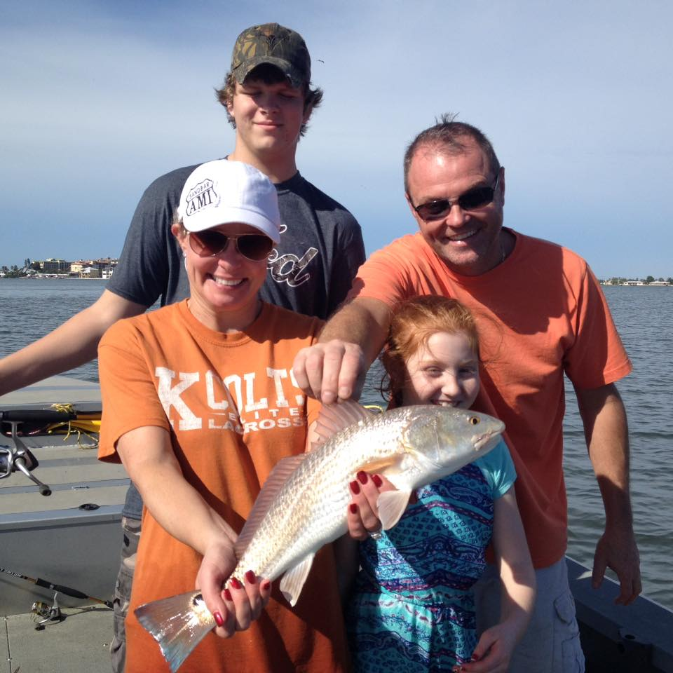 Tampa 39 s redfish guided fishing trips for Tampa fishing outfitters