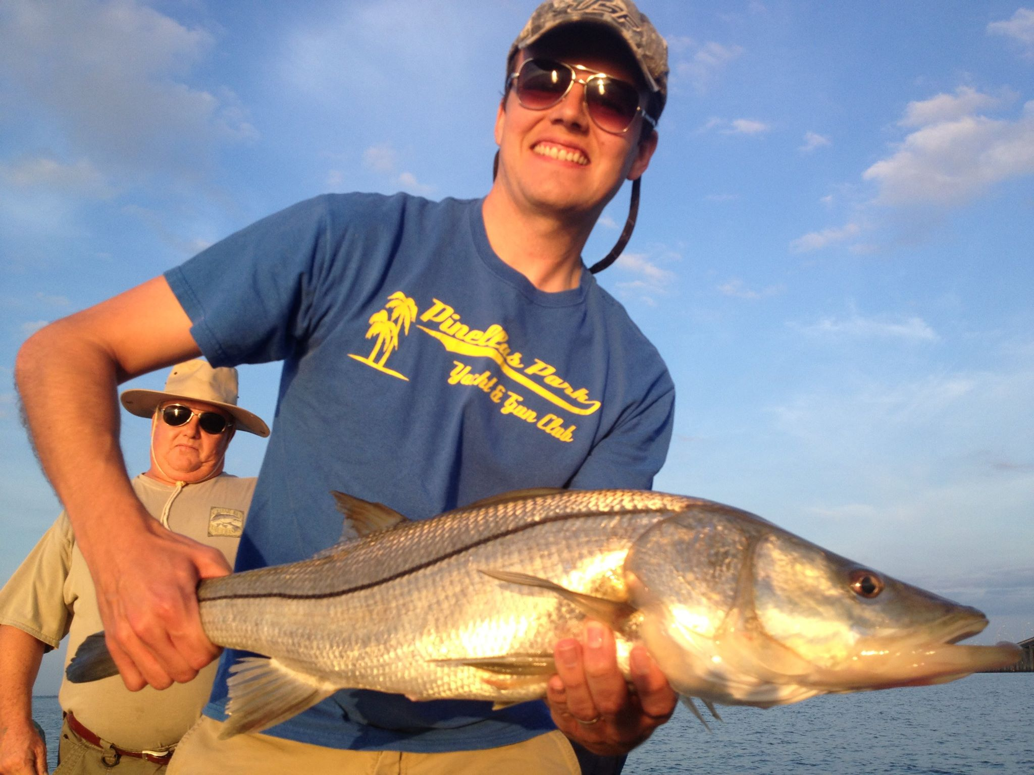 Snook guided fishing trip for Tampa bay fishing guides