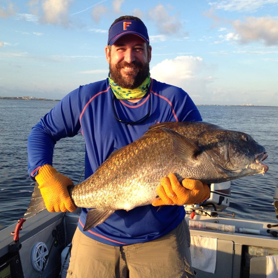 Guided fishing trips hotshot guide services for Fishing tampa bay